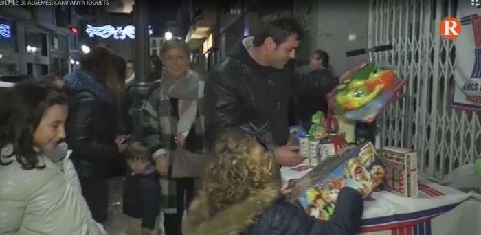 Campanya de recollida de joguets a Algemesí