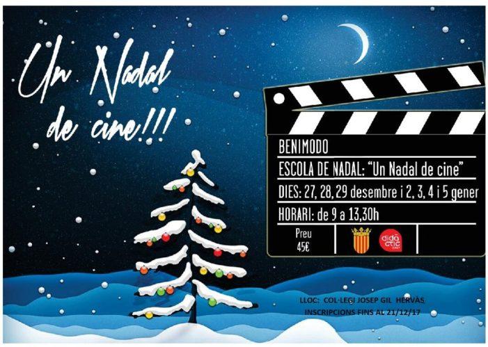 Benimodo subvenciona l'escola de Nadal