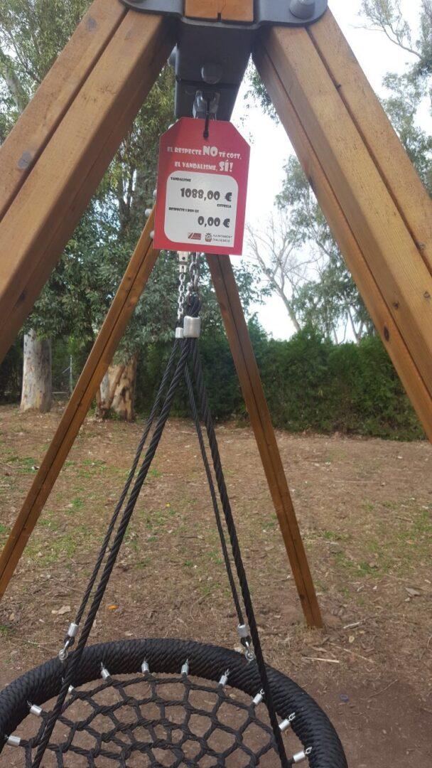 L'Ajuntament d'Algemesí inicia una campanya escolar per a combatre el vandalisme en mobiliari urbà, jocs infantils i zones verdes
