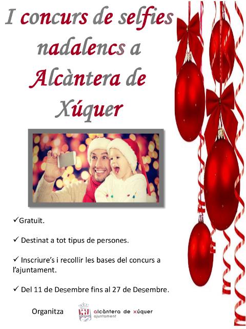 Alcàntera de Xúquer organitza el I Concurs de Selfies Nadalencs