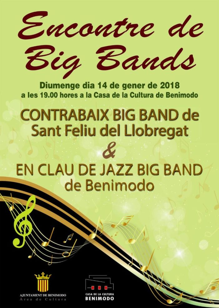 Benimodo viu un important encontre de Big Bands