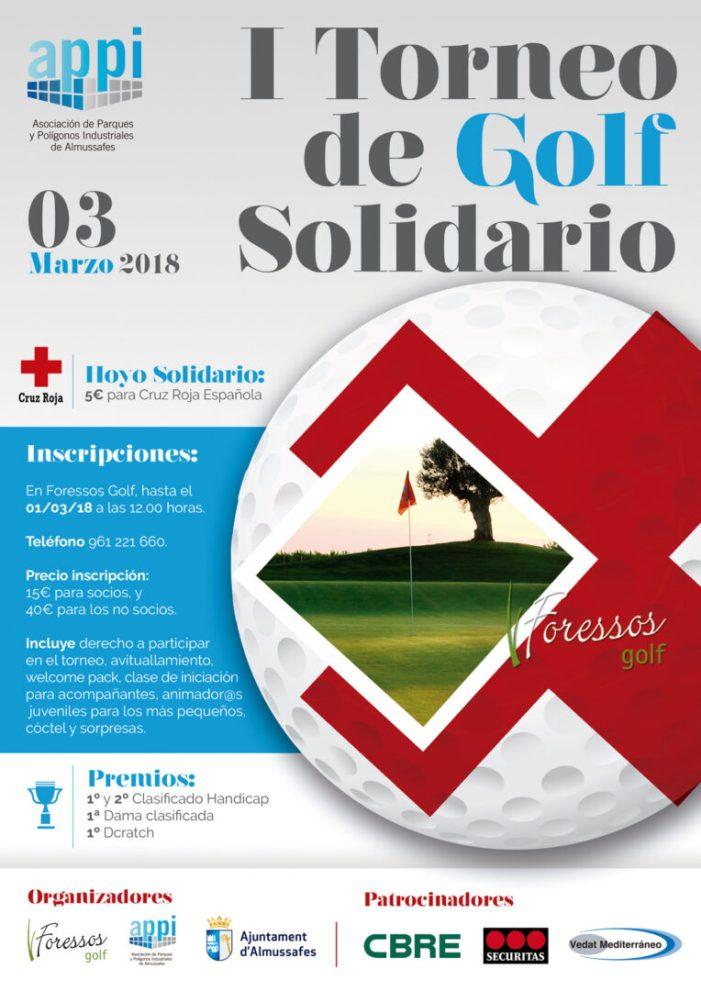Almussafes : APPI organitza per al mes de març el seu primer torneig de golf solidari