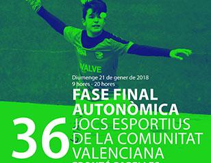 Almussafes acull la fase final autonòmica de frontó per parelles dels Jocs Esportius de la Comunitat Valenciana