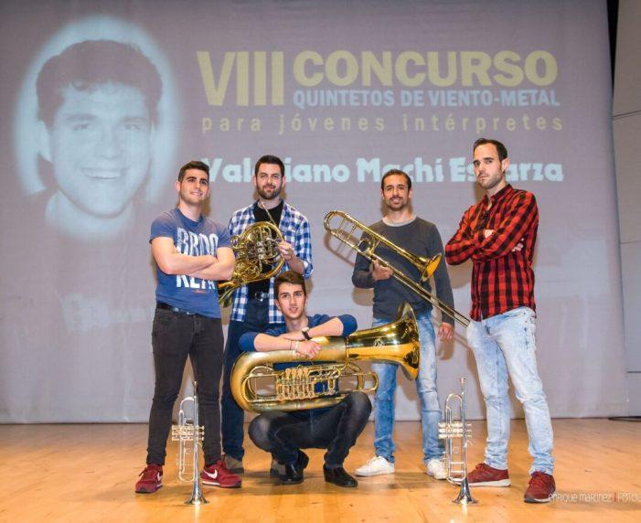 Benimodo repartirà 2.550 euros en el seu novè Concurs de Quintets de Vent-Metall per a Joves Intèrprets