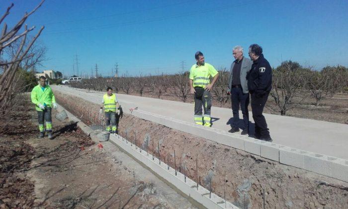 Alzira repararà camins afectats pels temporals de pluja