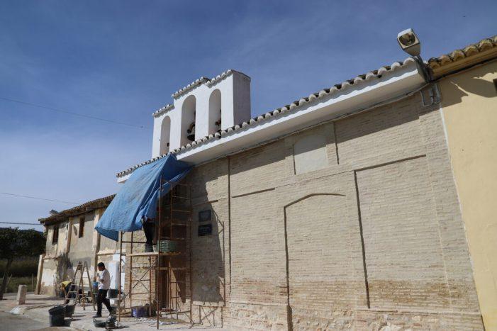 Cullera trau a la llum la façana original de l'ermita del Brosquil