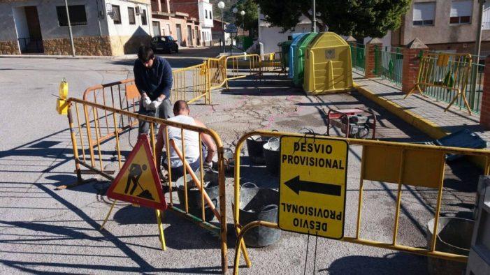 Sumacàrcer continua amb els treballs de millora del casc urbà