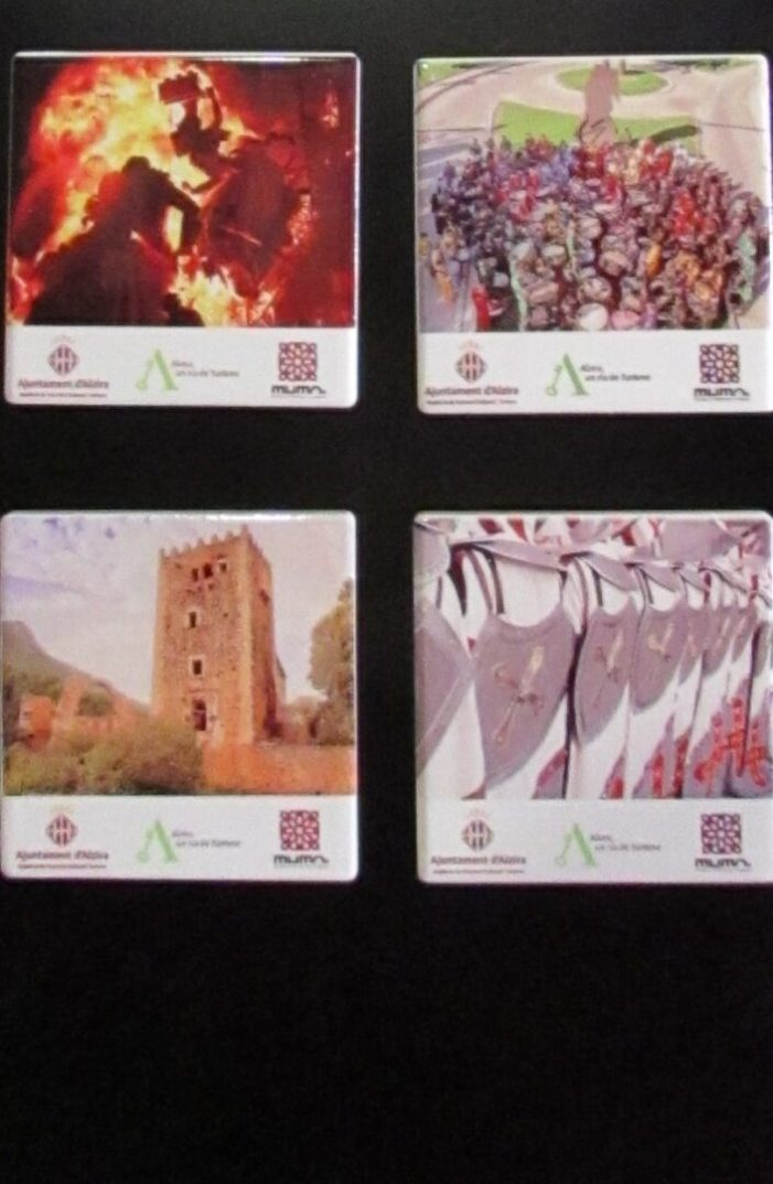 Edició de nous imans amb imatges culturals i festives d'Alzira