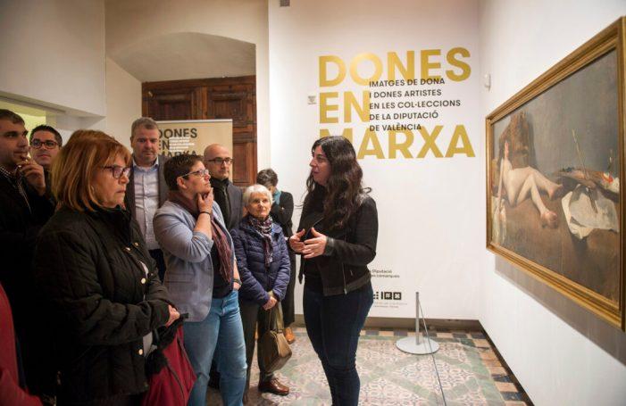 La Diputació inaugura una exposició itinerant amb obres de dones o inspirades en la dona