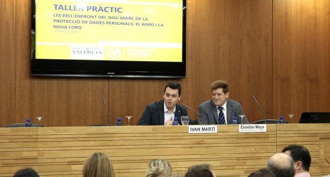L´àrea de Modernització promou l´adequació de les entitats locals al nou marc europeu de protecció de dades