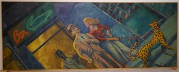 Alzira adquirix el quadre de Joan Verdú Parella amb fera