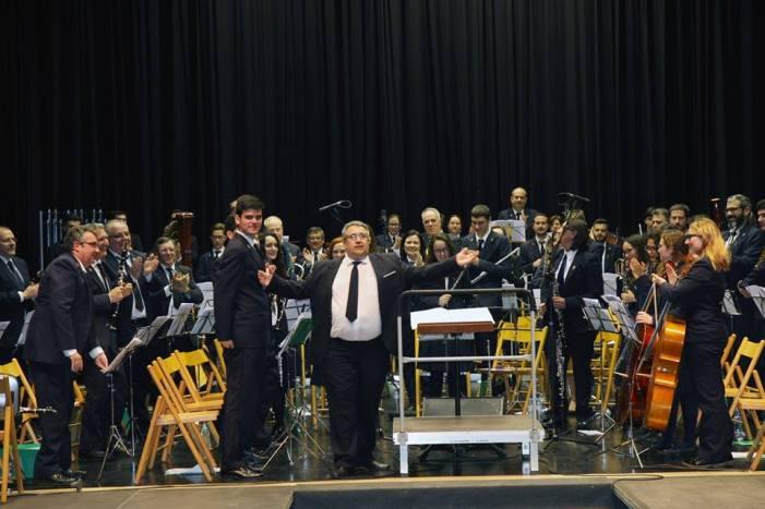 La Lira Almussafense celebra les falles amb el seu tradicional concert de març
