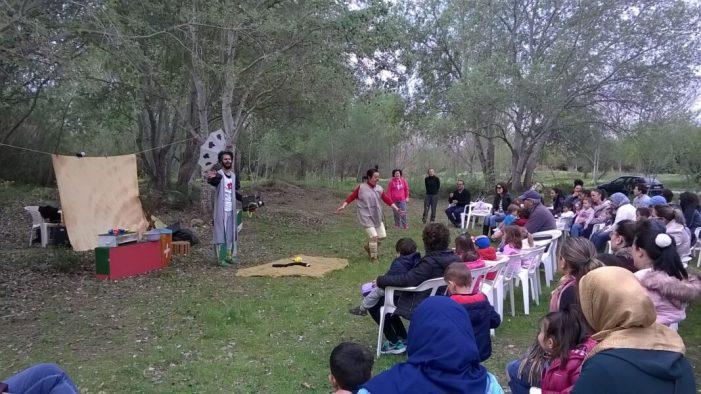 Els alumnes més menuts d'Algemesí celebren el Dia Internacional dels Rius