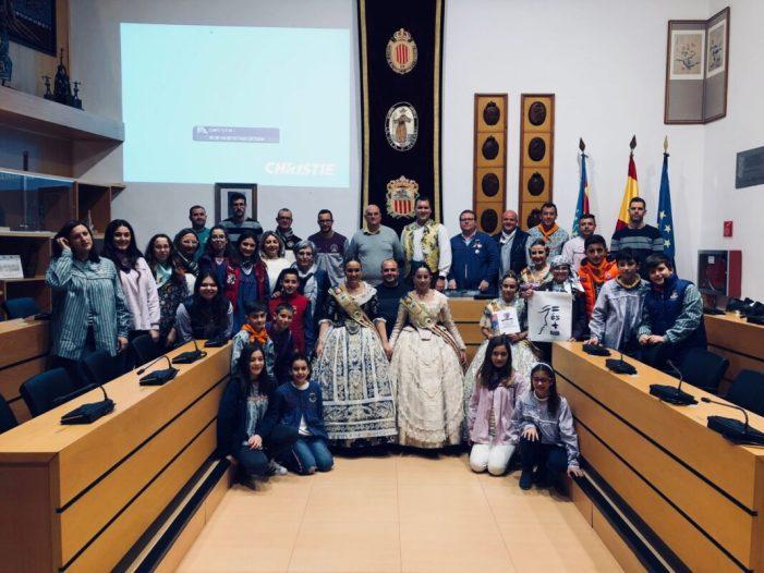 Les falles d'Algemesí participen en la campanya d'igualtat