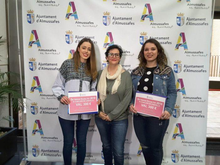 Almussafes lliura els premis del IX Concurs de Cartells del Dia Internacional de la Dona