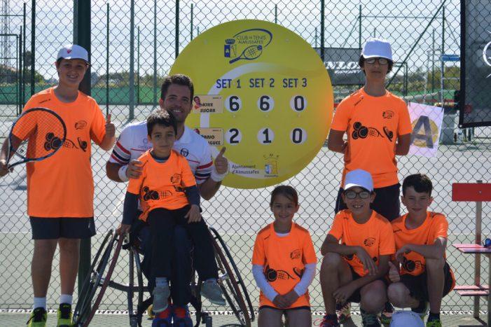 Almussafes compleix dues dècades d'aposta per la promoció del tennis adaptat