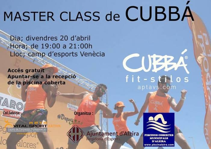 L'Ajuntament organitza una master class de Cubbà per a este divendres