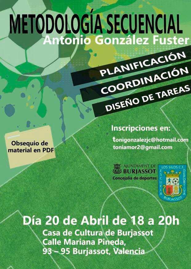 La Casa de Cultura acull una ponència sobre la planificació, coordinació i disseny de tasques aplicades al futbol