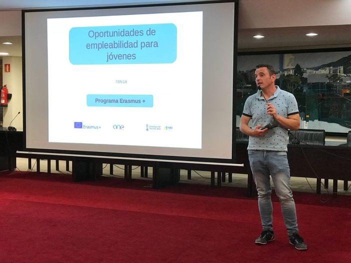 La regidoria de Desenvolupament Econòmic, Treball i Projectes Europeus d'Alzira gestiona la meitat del pressupost del servei de voluntariat europeu de l'IVAJ