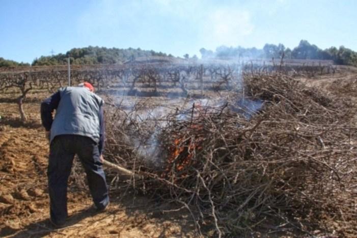 L'Ajuntament permetrà les cremes agràries de l'1 de juny al 14 de juliol
