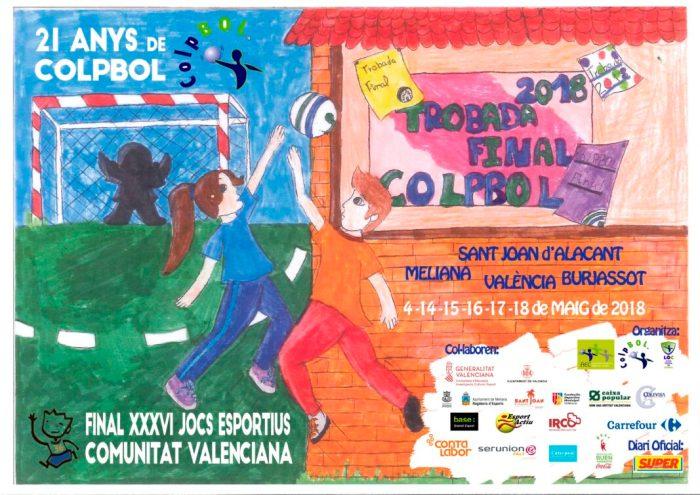 Burjassot serà una de les seus del Campionat Autonòmic de Colpbol