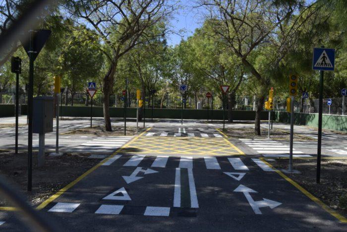 Burjassot inaugura el seu Parc d'Educació Vial amb una jornada festiva per a les i els xiquets
