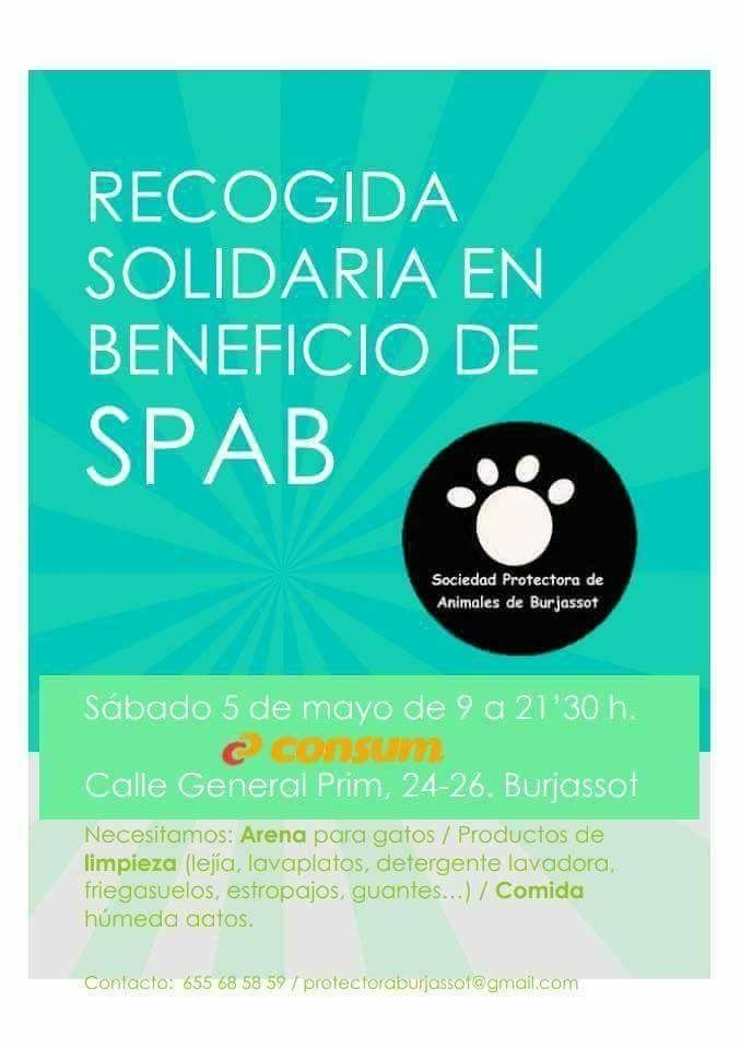La SPAB organitza una recollida solidària de productes destinats als animals que cuiden