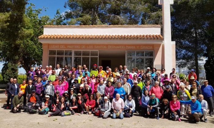 Èxit de participació de la VI edició a peu de la Ruta Bernardina entre Carlet i Alzira