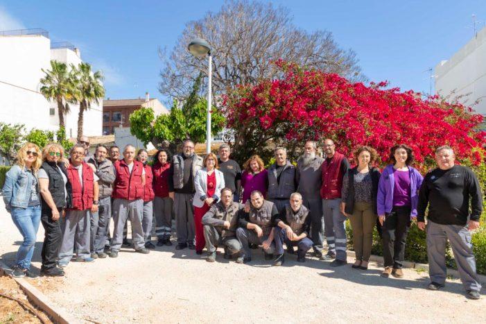 20 persones treballen en el Taller d'Ocupació Les Palmeres III