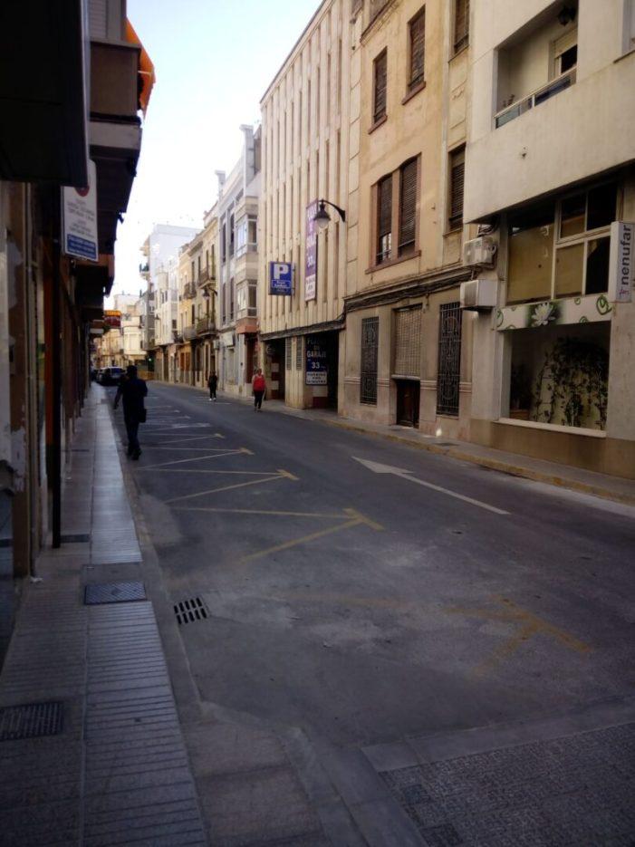 Alzira millora l'accessibilitat en els carrers amb el rebaix i ampliació de voreres