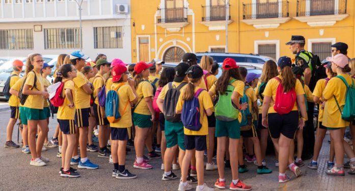 La Policia Local ensenya educació viària als escolars de Picassent