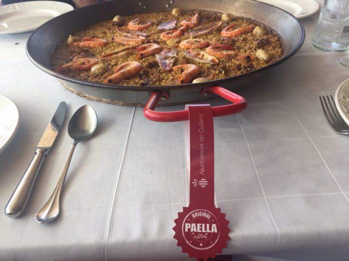 El concurs Paella de Cullera, premiat per la federació valenciana d'hostaleria