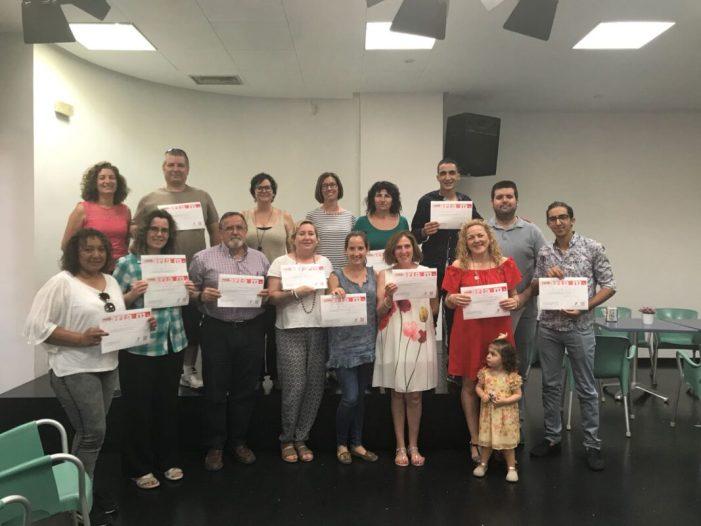 El programa 'VoluntariatpelValencià'tanca amb èxit a Almussafes la seua edició de 2018