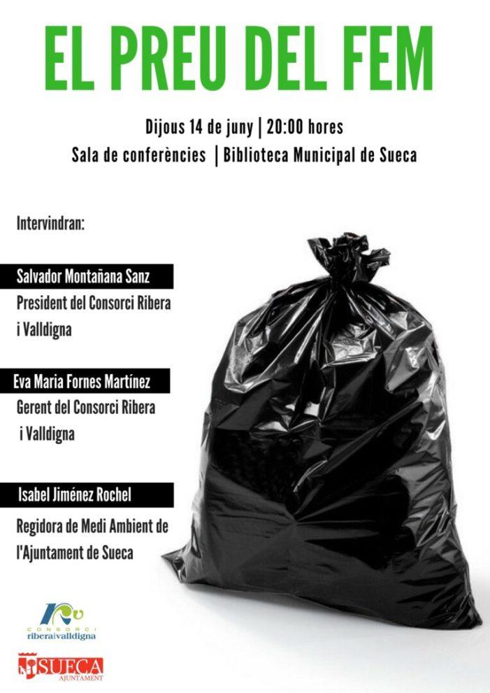 El Consorci Ribera i Valldigna aclarirà els dubtes sobre la taxa del tractament de residus als veïns de Sueca