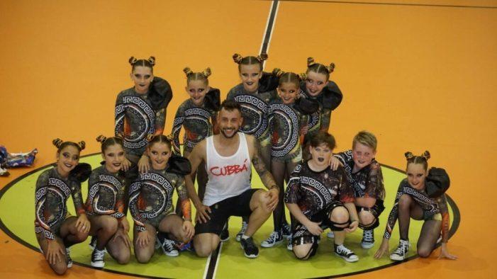 El grup de ballSweetEvolution, seté en el Campionat d'Espanya d'UrbanBeat