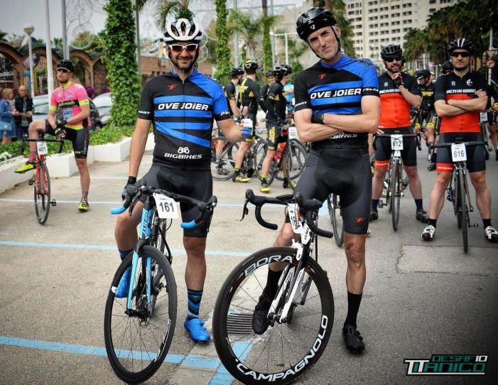 Dos ciclistes de Guadassuar entre els millors de l'ultra ciclisme español