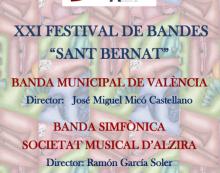 El Festival de Bandes, obri les festes de Sant Bernat d'Alzira