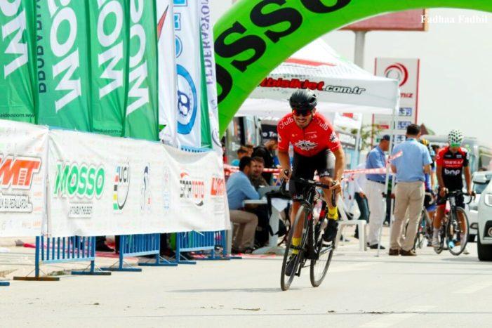 El ciclista Almussafeny Eric Valiente participa en el Tour de Mevlana, a Turquia