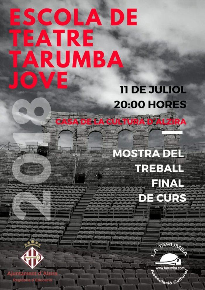 La Mostra de Treball 2018 compta amb l'Escola de Teatre Tarumba Jove