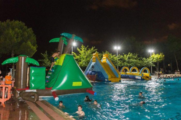 Oci juvenil i saludable per a les nits d'estiu a Mislata