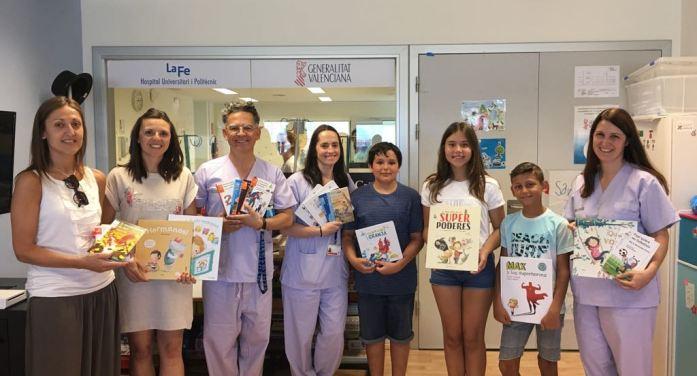 Un gest solidari de l'alumnat de 6é de primària del CEIP Mare de Déu de Vallivana de Picassent