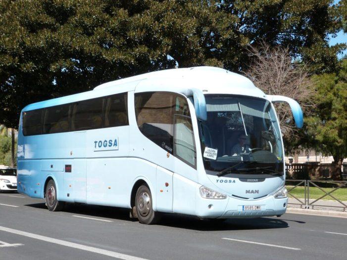 L'Alcúdia es queda amb un únic servei d'autobusos a València i sense servei en festius, juliol i agost