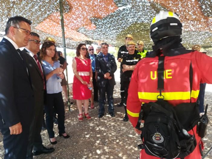 El delegat del Govern a la Comunitat Valenciana visita la UME
