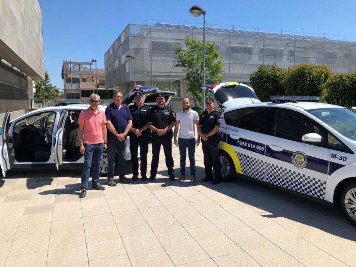 La Policia Local d'Algemesí reforça el servei de seguretat amb tres nous vehicles