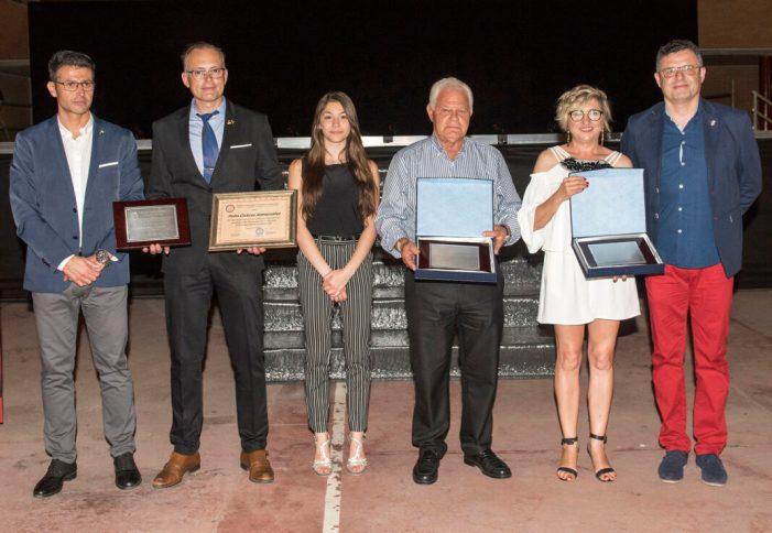 Almussafes homenatja als seus millors esportistes en la XX Gala de l'Esport