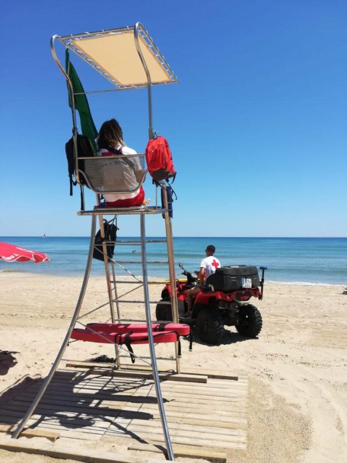Aprovat amb nota el servei de salvament i socorrisme de les platges de Sueca