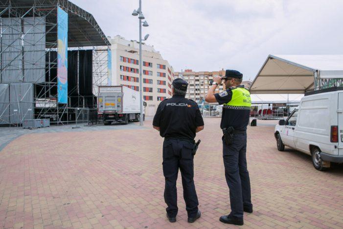 Mislata protegirà la plaça Major durant les festes amb blocs de formigó