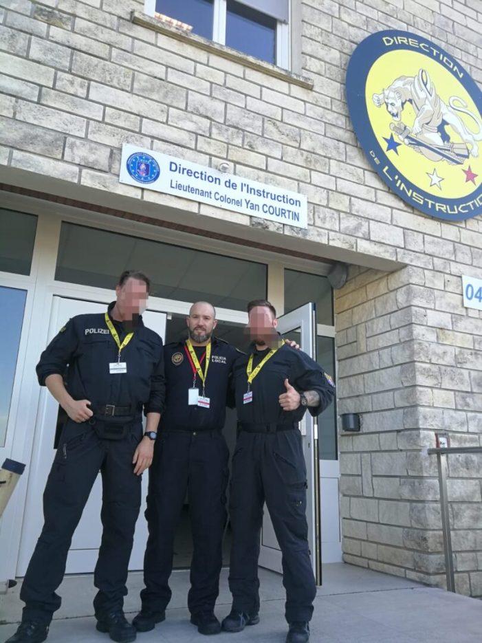 La Policia Local de Cullera compta amb un expert europeu en la instrucció de la Tasser