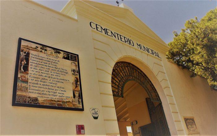 Burjassot: El Cementeri de Burjassot, a punt per a rebre les visites amb motiu de la festivitat de Tots els Santos