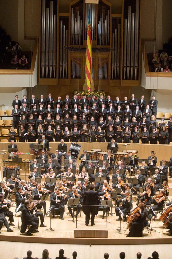 L'Orquestra de València i la Banda Municipal oferiran concerts els dies 5 i 7 d'octubre en el Palau de la Música